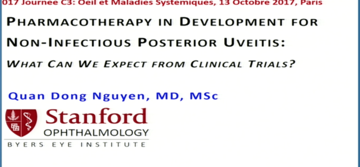 Pharmacotherapy in development for non-infectious posterior uveitis