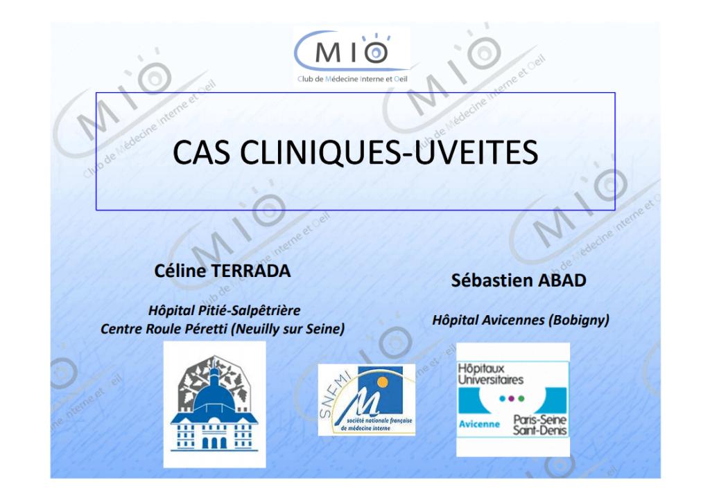 Cas cliniques - Uvéites cover