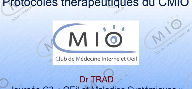 Protocoles thérapeutiques du CMIO