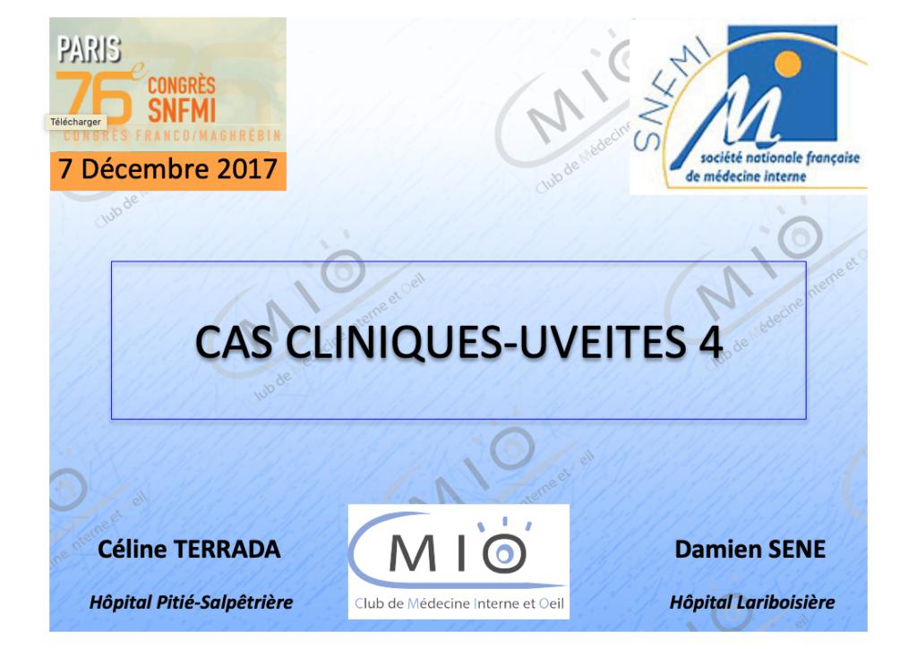 Cas cliniques - Uvéites 4 cover