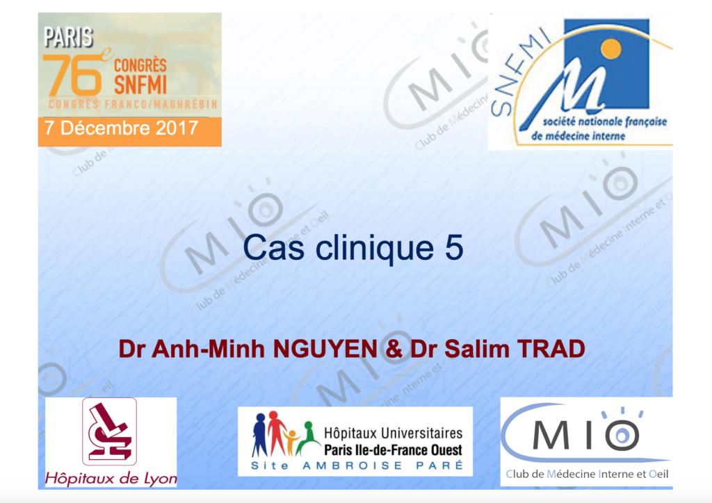 Cas clinique 5 Cover