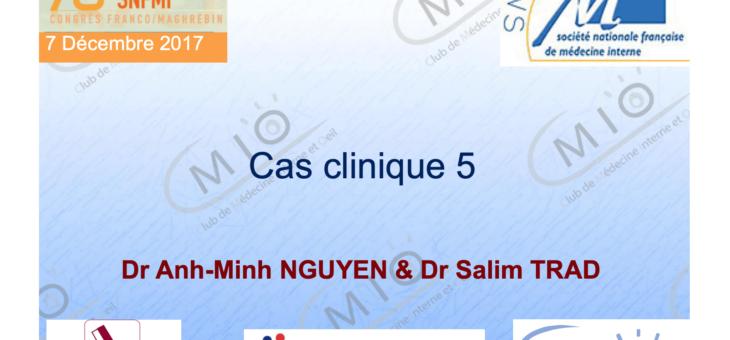 Cas clinique – Uvéites 5