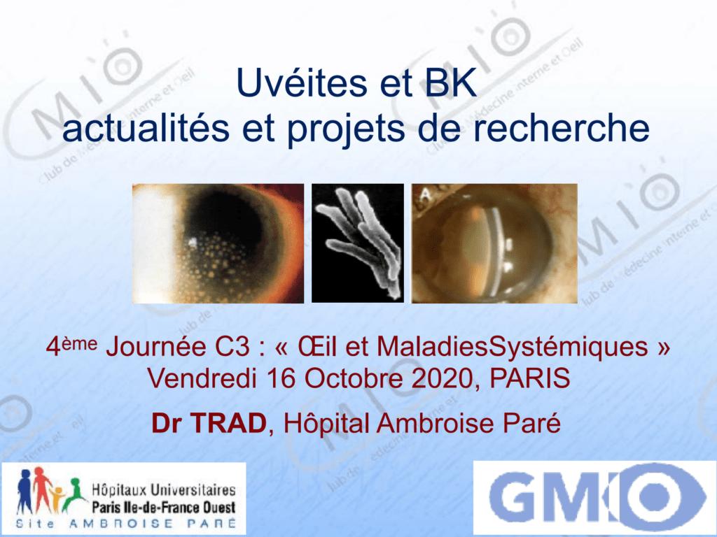 Uvéites et BK actualités et projets de recherche - Cover